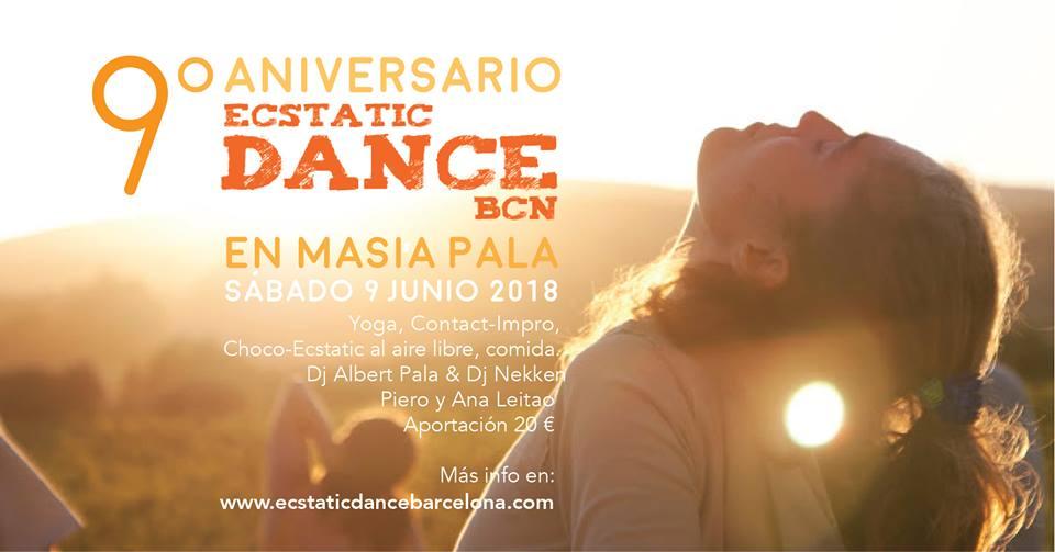 9º Aniversario Ecstatic Dance BCN 09//06//18