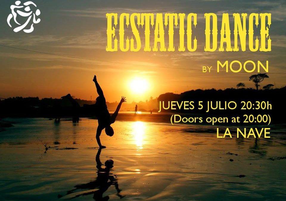 Ecstatic Dance | Dj Moon | 5 julio | La Nave Ibiza