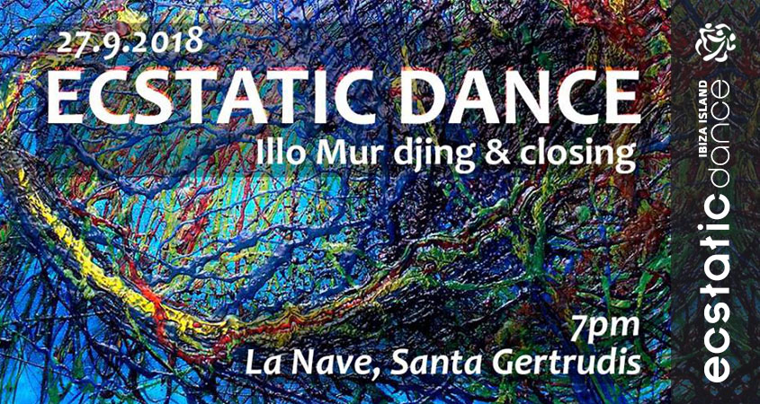 Ecstatic Dance & Cello Closing | dj Illo Mur | 27 sep | La Nave Ibiza