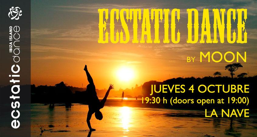 Ecstatic Dance | Dj MOON | 05 oct | La Nave Ibiza