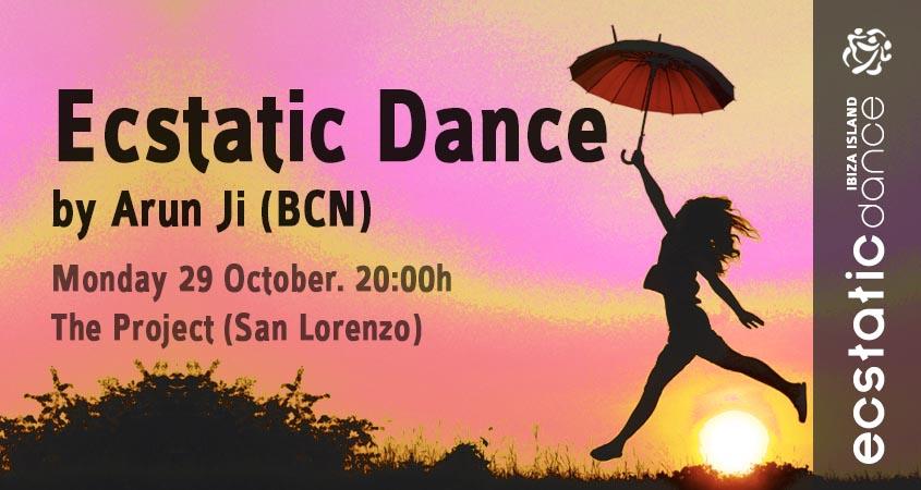 Ecstatic Dance  | Arun Ji | 29 october | The Project (San Lorenzo)